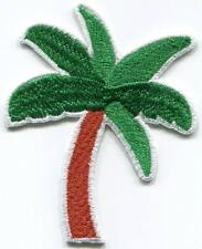 Palm tree embroidered applique iron-on patch S-1512