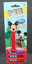DISNEY RED MICKEY MOUSE CLUB HOUSE PEZ DISPENSER NOS