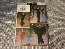 NEW UNCUT Butterick Sexy Gothic Vampire,Dracula,Witch,Elvira Costume Pattern