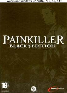 Painkiller Black Edition PC Game Battle out of Hell Windows XP Vista 7 8 10 11