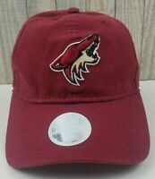 NHL Women Phoenix Coyotes New Era NHL Official Licensed Product Hat Cap Red NWT