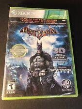 Batman Arkham Asylum [ Game of the Year Edition / GREEN Case ] (XBOX 360) NEW