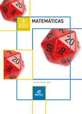 (16).MATEMATICAS ACADEMICAS 4ºESO. NUEVO. Nacional URGENTE/Internac. económico.