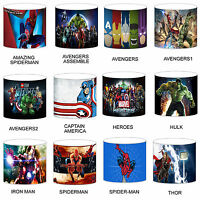 Superhero Heroes Comic Childrens Lampshades Ceiling Light Table Bedding Duvet