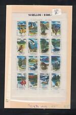 Chile Animals SC 873 Block of 16 MNH (2dpu)
