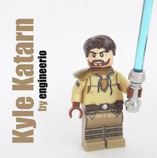 LEGO Custom - Kyle Katarn - Star Wars minifigures jan ors jedi