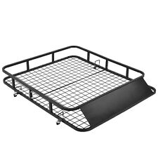 "48""x 40"" Universal Roof Rack Basket Car Top Luggage Carrier Cargo Holder Travel"