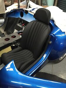 ADR certified Pair Genuine Leather AC replica cobra seats - Built to your needs