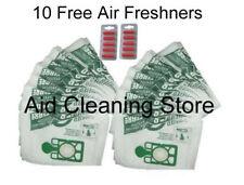 20 x Numatic Henry Hetty HEPAFLO Vacuum Cleaner Cloth Hoover Bags & 10Fresheners