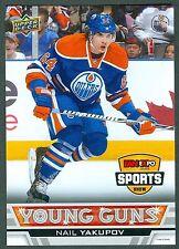 Nail Yakupov 2013 Fan Expo UD Upper Deck 5x7 Hockey Card MINT Edmonton Oilers B1