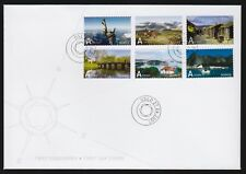 Norway 2007 Fdc Tourism Self-Adhesives
