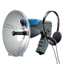 Parabolic Microphone Spy Listening Device Bionic Ear Sound Amplifier 300m