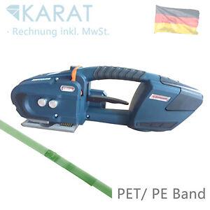 Akku Umreifungsmaschine Elektrische Umreifungsgerät für PET Band bis 16 mm
