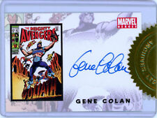 Complete Avengers 1963 to Present (2006) Gene Colan Autograph Case Topper