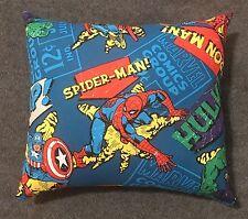 "Beautiful Handmade Marvel Comics Accent - Throw Pillow 10"" x 9"""