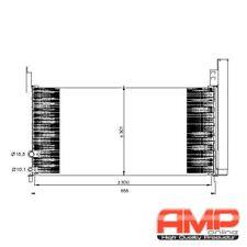 NRF Kondensator Klimaanlage LEXUS CT 200h TOYOTA Auris 1.8 Prius