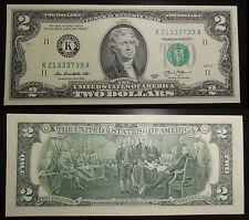 2 dólares apariencias dallas, texas (K) 2013 UNC. – Two dollars Dallas, TX K estados unidos UNC.