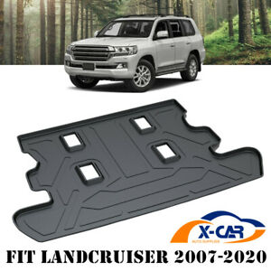 Heavy Duty Rubber Cargo Mat for Toyota Land Cruiser LC200 GXL VX SAHARA ALTITUDE