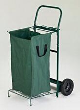 Portatile Giardino Foglia & detriti carrello con ruote robusto