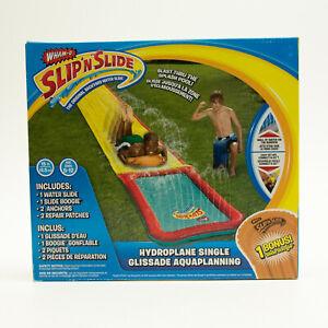 NEW Wham-O Slip 'N Slide Hydroplane Single Slide With Slide Booie Board 15ft