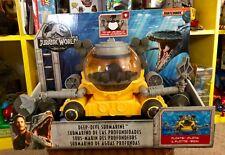Jurassic World Fallen Kingdom Deep Dive Submarine Dinosaur Sea Vehicle Matchbox