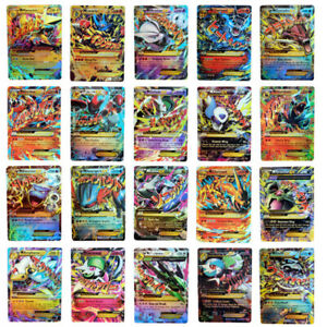 20pcs Pokemon EX Card All MEGA Holo Flash Trading Cards Charizard Venusaur New