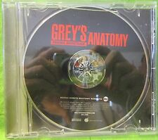 Grey's Annotomy Sound Track CD