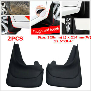 2PCS Truck Car Mud Flaps Mudgurads Fender Dust Guards Protect Cover For Vans RV