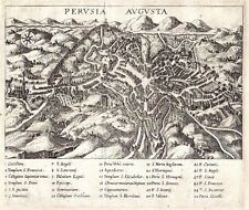 Antique map, Perusia Augusta