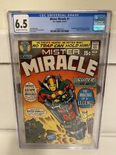 Mister Miracle #1 CGC 6.5 1appearance Mr. Miracle & Oberon DC Comics 1971 MORE!!