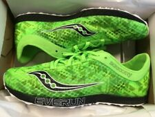 NEW Saucony endorphin racer 2 racing flats running shoes men's 8 US black/green