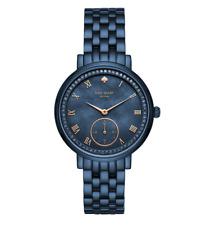 Kate Spade New York Monterey Blue Stainless Steel Bracelet 38mm Watch 0469
