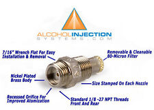 Water Meth Methanol Alcohol Injection Nozzle Fuel Jet Injector .75 GPH 47 ml/min
