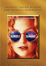 Almost Famous Dvd Cameron Crowe(Dir) 2000