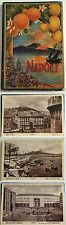altes Leporello Album NEAPEL/ NAPOLI Italien kpl. in Original Mappe    ( 5099