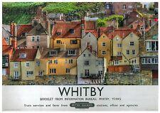 226 Vintage Railway Art Poster Sandsend Near Whitby North Yorks
