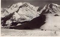 Le Col d'ARBOIS Le Refuge Delachat et le Mont-Blanc