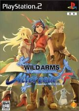 PS2 PlayStation 2 WILD ARMS Alter code: F  JP