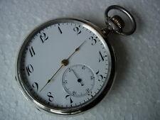 Analoge mechanische (Handaufzugs) Taschenuhren aus Silber