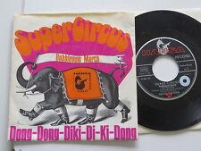 "SUPER CIRCUS Dong-Diki-Di-KI Bubblegum March  7"" Vinyl: mint /Sleeve:ex..TOP"