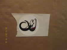 NLL Colorado Mammoth Vintage 3 Inch Team Logo LaCrosse Sticker