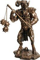 Minotauro Warrior Frío Reparto Bronce Estatua/Escultura 21x13x8cm/2.5x1.6x1m