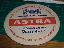 020317 sottobicchiere beer mats birra bierdeckel ASTRA BAVARIA