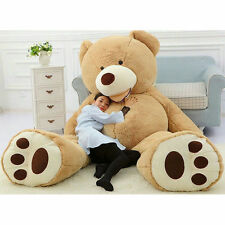 200cm Super Huge Teddy bear(only Cover) Plush Toy Shell (with Zipper) 78'' Gift/