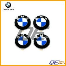 Set of 4 Emblem Wheel Center Cap 36131181106 Fits: BMW 2800CS E12 E23 E24 528i