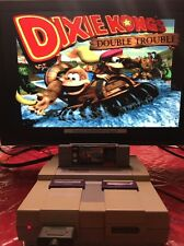 Donkey Kong Country 3: Dixie Kong's Double Trouble SNES Super Nintendo TESTED