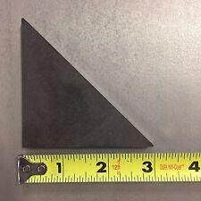 "Steel Weld Gussets 3"" X 3"" X 1/4"" A36 Steel. (12) Pieces"