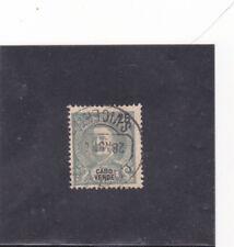 CAPE VERDE D. CARLOS I 25 REIS (1898-01)  VARIETYPerf. 12 3/4 cat. value 260 EUR