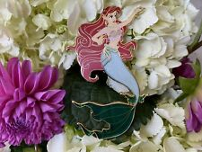Ariel Siren Fantasy Pin Le 40 Stained Glass Tail
