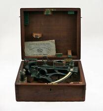 Antique marine sextant by L. Van Der Voodt-Cornet,Antverpen 1878